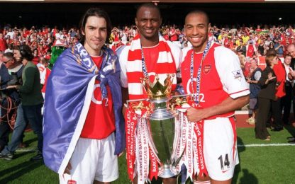 Champagne in Premier, l'Arsenal dei francesi