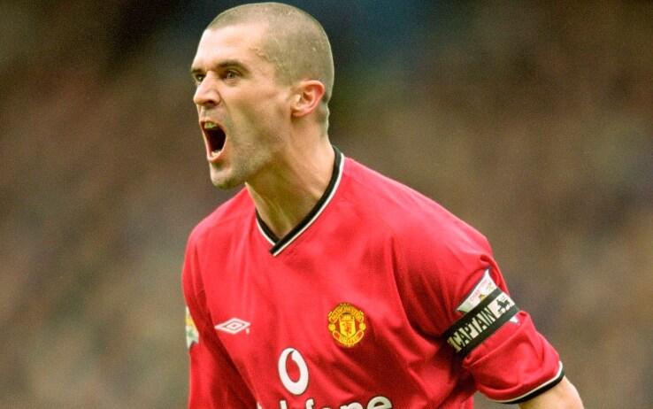 Roy Keane, 326 gare al Man Utd fra il 1996 e il 2003