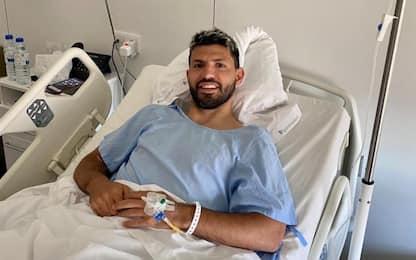 Kun operato al ginocchio: in dubbio per City-Real