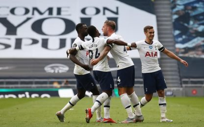 Son e Alderweireld ribaltano l'Arsenal: 2-1 Spurs