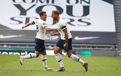Son e Alderweireld ribaltano l'Arsenal: 2-1 Spurs