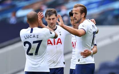Doppio Kane, Leicester battuto 3-0 da Mourinho