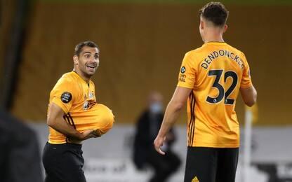 I Wolves vincono e tornano sesti, ok Everton