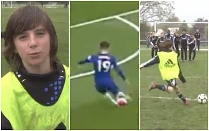 Mount ripete il gol che faceva da bambino. VIDEO