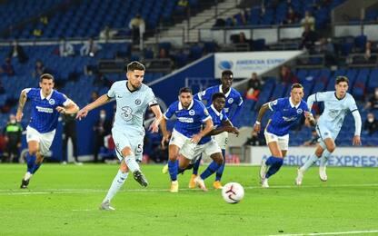 Chelsea, buona la prima: Brighton battuto 3-1