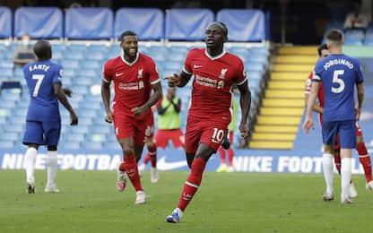 Doppio Mané, al Liverpool il big-match col Chelsea
