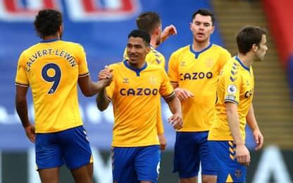 L'Everton vince ancora: in testa a punteggio pieno
