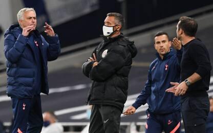 Mourinho show: lite con Lampard, poi insegue Dier