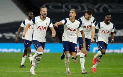 Spurs ai quarti, Chelsea out: decisivi i rigori