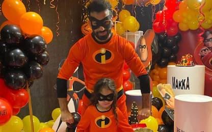 Supereroe per la figlia, Salah è… Incredibile!