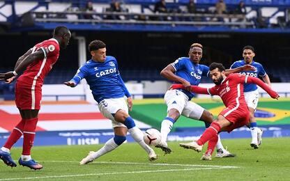 Everton-Liverpool 2-2, Reds fermati dal Var