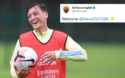 Ozil alla Roma? Sì, come social media manager