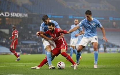 Jesus risponde a Salah: Man City-Liverpool 1-1