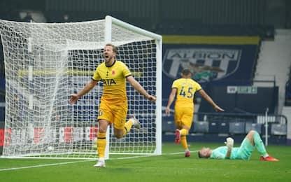 Ci pensa Kane, il Tottenham batte il West Bromwich