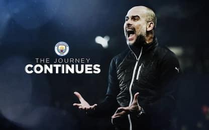 Guardiola rinnova col City, contratto fino al 2023
