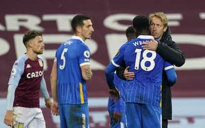 Aston Villa-Brighton 1-2: highlights