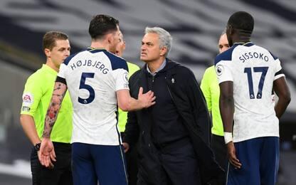 Mou batte 2-0 Guardiola: il Tottenham è in testa