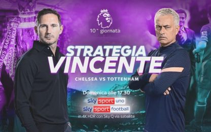 Premier League, domenica c'è Chelsea-Tottenham