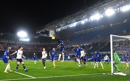 Chelsea-Tottenham 0-0, Mourinho aggancia i Reds