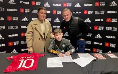 Un altro Rooney allo United: è il piccolo Kai!