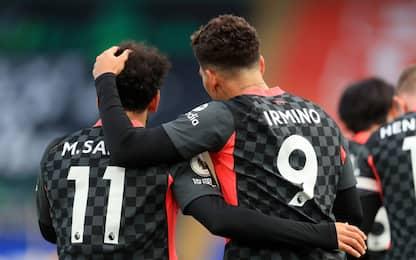 Salah-Firmino, è un super Liverpool: 7-0 al Palace