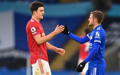 Lo United si illude, Vardy salva il Leivester: 2-2