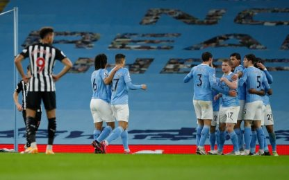 City facile, colpo dell'Everton: Ancelotti secondo
