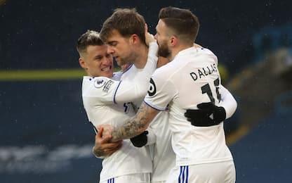 Leeds-Burnley 1-0, decide un rigore di Bamford
