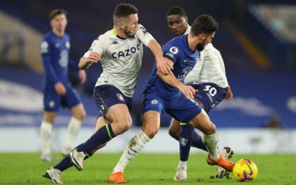 Chelsea e Leicester, pari con Aston Villa e Palace