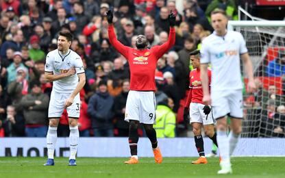 United 1° in Premier: l'ultima volta c'era mezza A