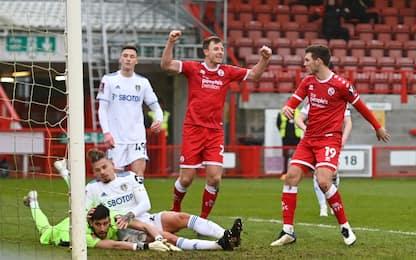 Batosta Leeds, fuori 3-0 con un club di 4^ serie