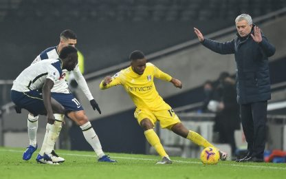 Kane non basta a Mou, 1-1 tra Tottenham e Fulham