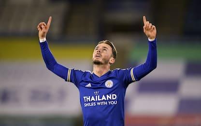 Leicester, 2-0 al Southampton e secondo posto