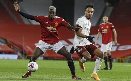 Arsenal-United alle 18.30 su Sky: guida tv