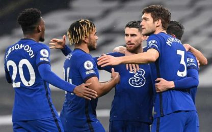 Chelsea, basta Jorginho: Spurs al 3° ko di fila