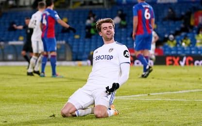 Vittoria per Bielsa, Leeds-Crystal Palace 2-0