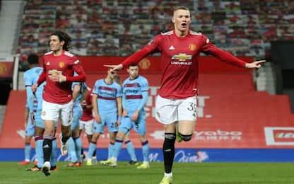 Man Utd ai quarti, West Ham ko ai supplememtari