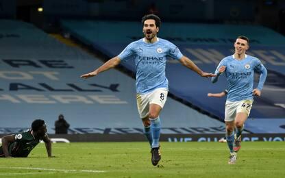 Pep batte Mou: Manchester City-Tottenham 3-0