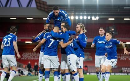 Premier, Liverpool-Everton 0-2: derby ad Ancelotti
