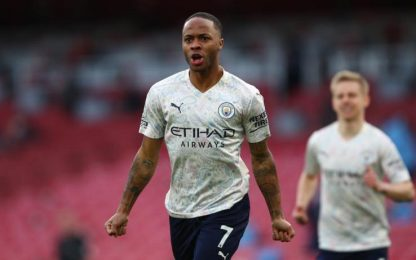 Al City basta un gol di Sterling: 1-0 all'Arsenal