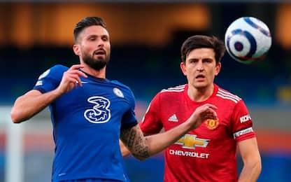 United, le big sono un tabù: con il Chelsea è 0-0