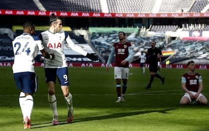 Bale rilancia gli Spurs: doppietta e assist, 4-0