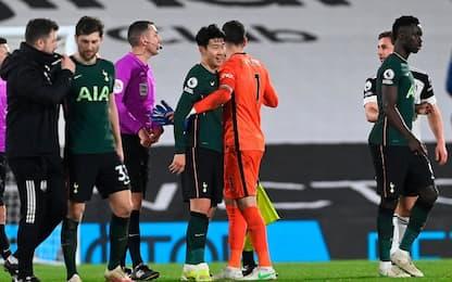 Fulham-Tottenham 0-1