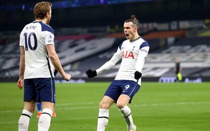 Bale&Kane: il Tottenham travolge il Crystal Palace
