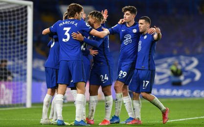 Chelsea imbattuto con Tuchel: 2-0 ad Ancelotti