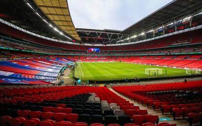 Semifinale FA Cup, Wembley aperto a 4 mila tifosi