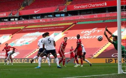 Liverpool-Aston Villa 2-1: gol e highlights