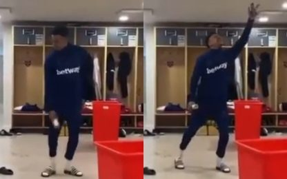 Lingard balla come Michael Jackson: il video