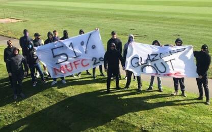 Man United, tifosi invadono centro di allenamento