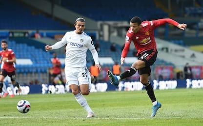 Leeds-Man United 0-0, Solskjaer pensa alla Roma